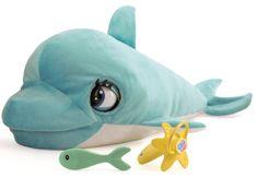 Mikro hračky Delfín Blu Blu 60cm plyšový