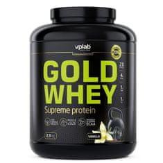 VPLAB Gold Whey prehrambeni dodatek, okus vanilje, 2,3 kg