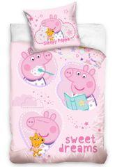 Carbotex komplet pościeli dziecięcej Świnka Peppa Dobranoc