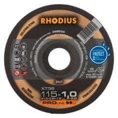 Rhodius Rezný kotúč nerez 115x1,0x22,2 XT38