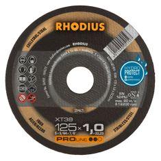 Rhodius Rezný kotúč nerez 125x1,0x22,2 XT38