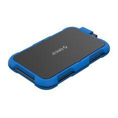 Orico 2739U3 zunanje ohišje za HDD/SSD disk, 6,35 cm (2,5''), USB 3.0 v SATA3, modro