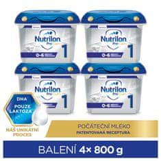 Nutrilon 1 Profutura počiatočné dojčenské mlieko 4x 800 g, 0+