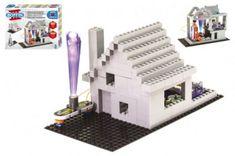 Conquest Stavebnice Boffin II. + kostky elektronická 20 projektů na baterie 200ks v krabici 39x30x6cm