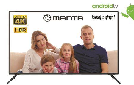 Manta 55LUA29E 4K UHD LED, Android televizor