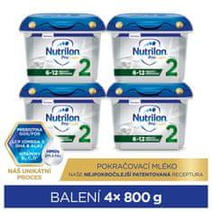 Nutrilon 2 Profutura pokračovací kojenecké mléko 4x 800 g, 6+