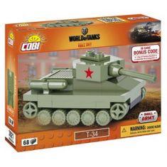 Cobi 3021 WOT Nano Tank T-34, 68 k