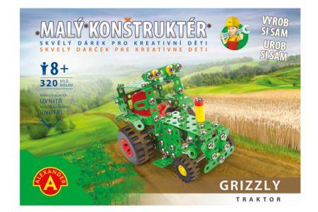 Lamps Malý konstruktér - GRIZZLY TRAKTOR 320 dílků