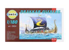 Směr Model Drakkar Oseberg 1:180