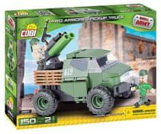 Cobi 2160 SMALL ARMY 4WD PICKUP 150 K, 2 F