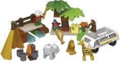 Unico Plus Unico Plus stavebnice Divoké Safari typ LEGO DUPLO 55 dílů