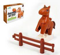 HPD Figurka - kůň typ LEGO DUPLO
