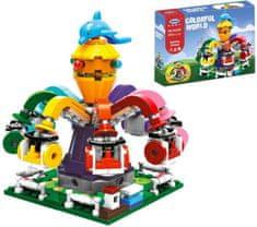 XINGBAO Xingbao stavebnice Kolotoč chobotnice typ LEGO 350 dílů