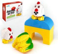 HPD Figurka - kuřátka typ LEGO DUPLO