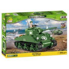 Cobi 2464A II WW M4A1 Sherman, 480 k, 1 f