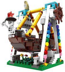 XINGBAO Xingbao stavebnice Houpačka - pirátská loď typ LEGO 520 dílů