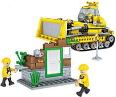 Cogo stavebnice Buldozer typ LEGO 412 dílů