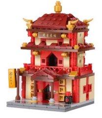 XINGBAO Xingbao stavebnice Čínská čtvrť - Hostinec typ LEGO 405 dílů