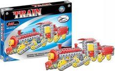 ICOM Kovová konstrukční stavebnice parní lokomotiva 240ks