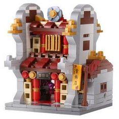 XINGBAO Xingbao stavebnice Čínská čtvrť - Klenotnictví typ LEGO 350 dílů