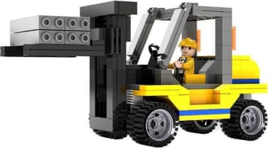 Cogo stavebnice Vysokozdvižný vozík typ LEGO 171 dílů