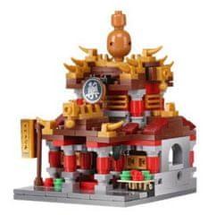 XINGBAO Xingbao stavebnice Čínská čtvrť - Lékárna typ LEGO 326 dílů