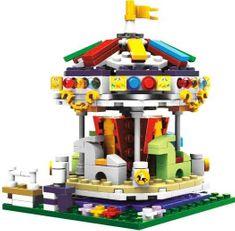 XINGBAO Xingbao stavebnice Dětský kolotoč typ LEGO 343 dílů