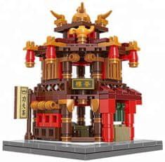 XINGBAO Xingbao stavebnice Čínská čtvrť - Čajovna typ LEGO 356 dílů