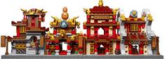 XINGBAO Xingbao stavebnice Čínská čtvrť 4v1 typ LEGO 1394 dílů