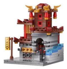 XINGBAO Xingbao stavebnice Čínská čtvrť - Kovárna typ LEGO 313 dílů