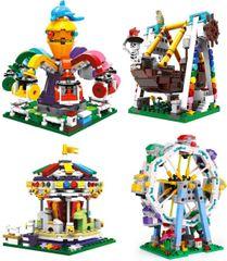 XINGBAO Xingbao stavebnice Matějská pouť typ LEGO 1873 dílů