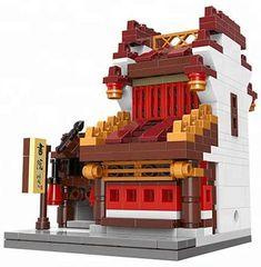 XINGBAO Xingbao stavebnice Čínská čtvrť - Knihovna typ LEGO 366 dílů