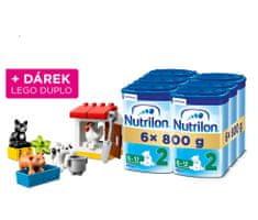 Nutrilon 2 pokračovací kojenecké mléko 6x 800g