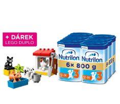Nutrilon 3 batolecí mléko 6x 800g