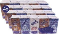 LINTEO Linteo papírzsebkendő 4 x 15 x 10, 3 rétegű