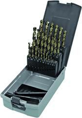 Keil Sada 25 diel. kobaltových vrtákov do kovu HSS-E DIN 338