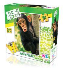 KS Games Puzzle 100 dielikov Baby Chimp