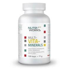 NutriWorks Multivitaminerals 120kapslí