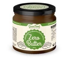 GreenFood Zero Butter Arašídový s tmavou čokoládou 350g