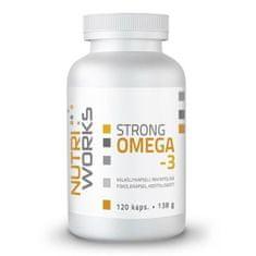 NutriWorks Strong Omega 3 120kapslí