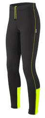 Etape Otroške hlače Leggy, črne/rumene Fluo