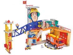 Simba Požárník Sam Mega hasičská stanice XXL
