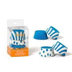 Decora Košíčky na muffiny 75ks bílo modré