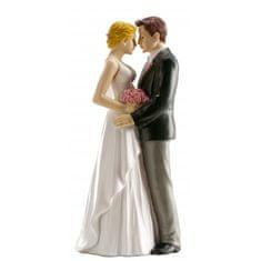 Dekora Svatební figurka na dort 16cm opravdová láska