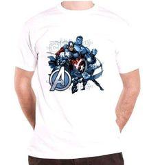 Avengers Pánské tričko Avengers - Group Assemble Velikost: L