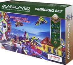 MAGPLAYER Magplayer magnetická stavebnice 166 ks