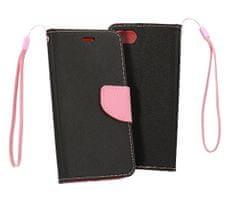 Havana Fancy Diary preklopna maska za Samsung Galaxy A10 A105, crno roza.