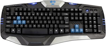 E-Blue klawiatura gamingowa Cobra Combatant-EX, US (EKM739BKUS-IU)