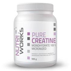 NutriWorks Pure Creatine Monohydrate 500g