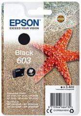 Epson 603, čierna (C13T03U14010)